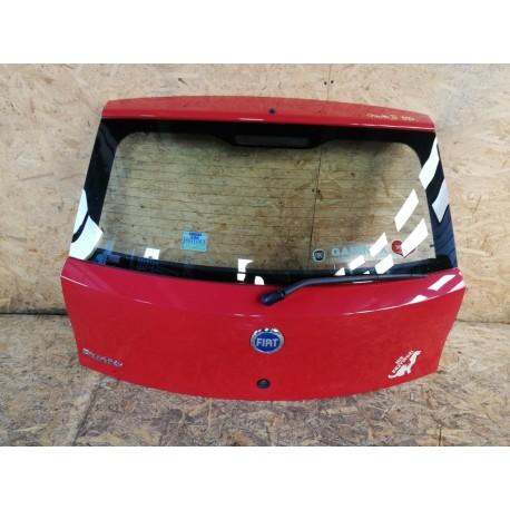 Punto lift 03- 5dr tylna klapa bagażnika czerwona